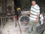 Taller Modesto in Somotillo. One of the 10 workshops in Nicaragua. He sold  600 pumps  Workshops EM and AMEC sold some 20.000 pumps and the workshop Bomesa some 40.000