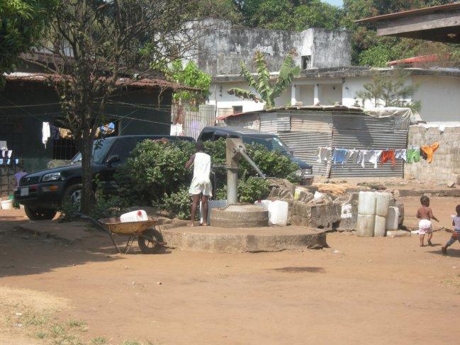 Monrovia Water Point