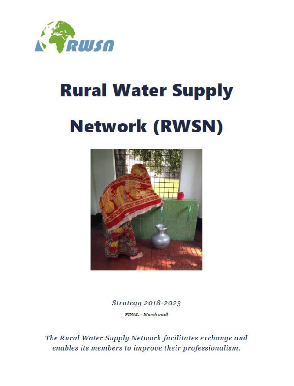 World Water Day 2018: Publication of the new RWSN Strategy 2018-2023