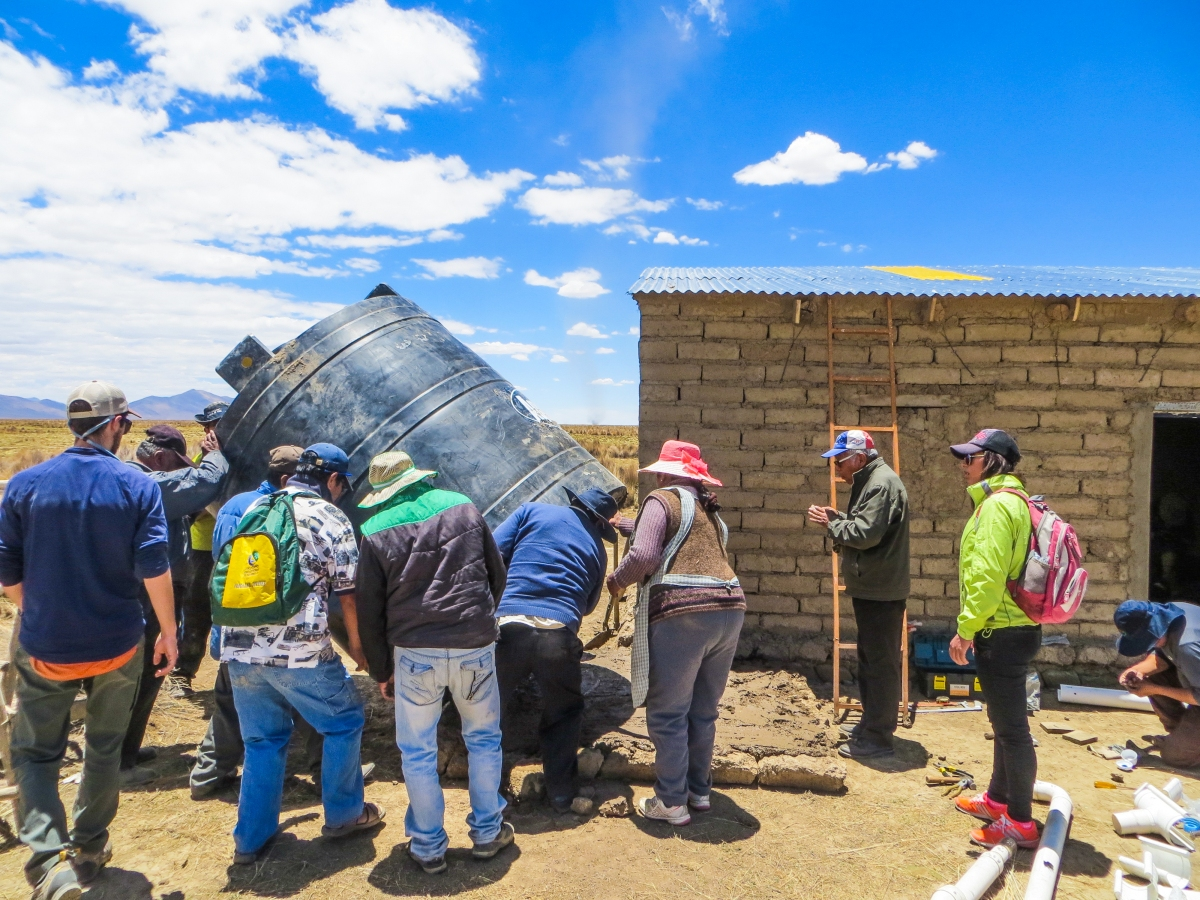 Arsenic detected in rainwater harvesting tanks in Bolivia