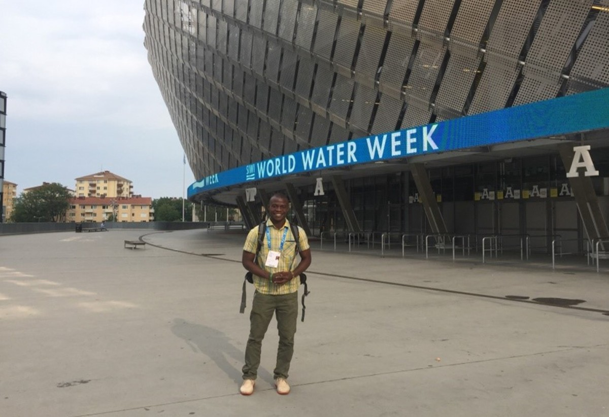 My experience at the World Water Week Conference: Water for Society Includingall