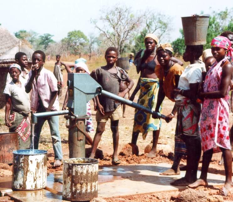 Opportunité de publication: les pompes à motricité humaines pour les services d'eaupotable
