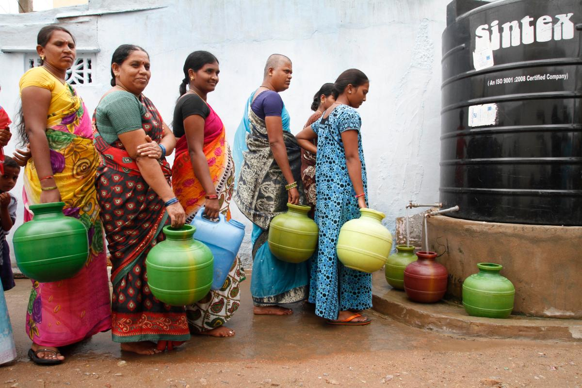 Putting equality, inclusion and rights at the centre of a COVID-19 water, sanitation and hygieneresponse