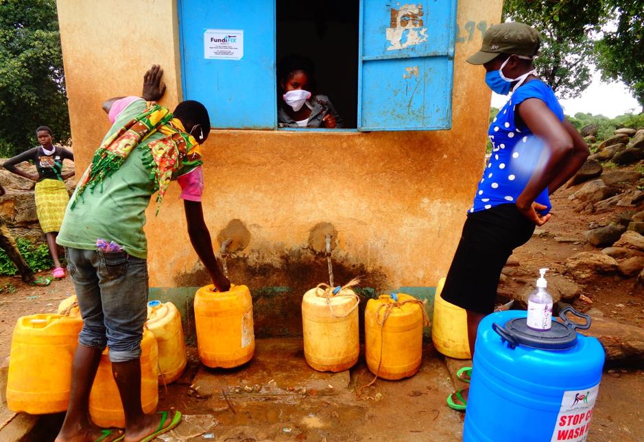 Les populations rurales peuvent-elles payer pour l'eau en temps de crise?